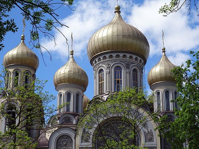 kostel ve Vilnius