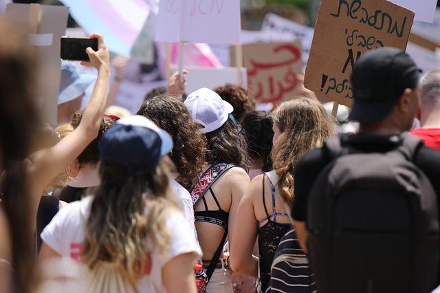 protest práva žen